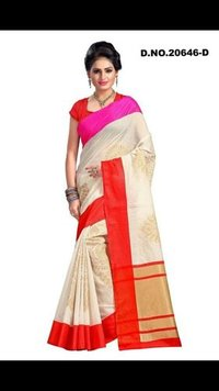 Chanderi Ladies Saree