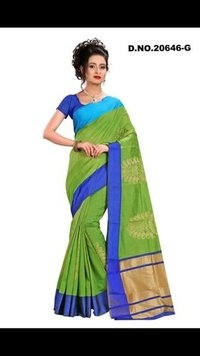 Designer Silk Chanderi Saree