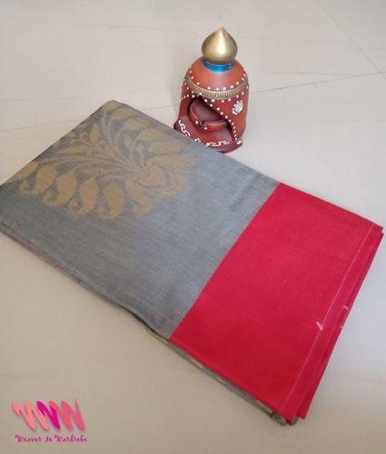 silk saree chanderi