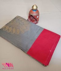 silk saree chanderi