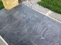 Silver Grey Slate Stone Honed