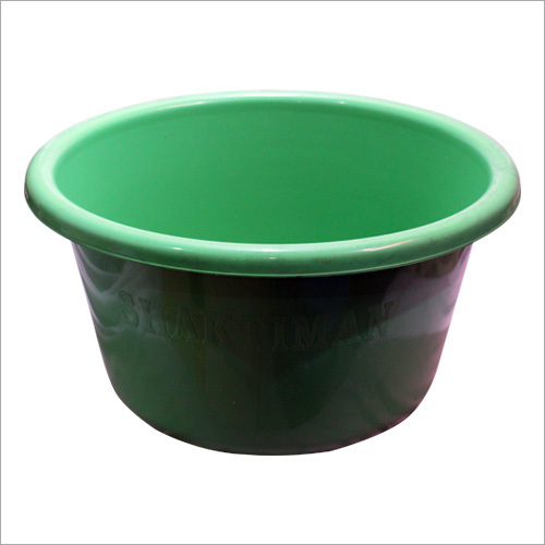 35 ltr Plastic Tub And Bahubali Tub