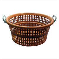 Plastic Handle Basket And Tokra