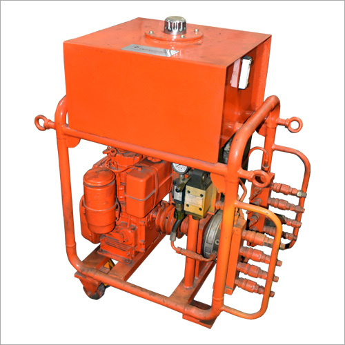 Sewer line Hydraulic Pusher