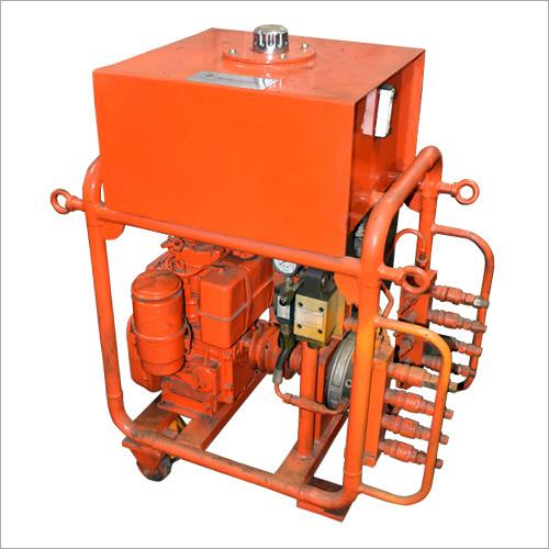 Sewer line Hydraulic Pusher