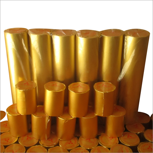 Golden Thermal Paper Roll