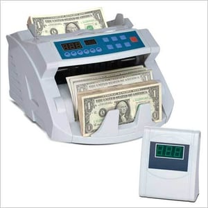 Fake Note detector & currency counting Machine