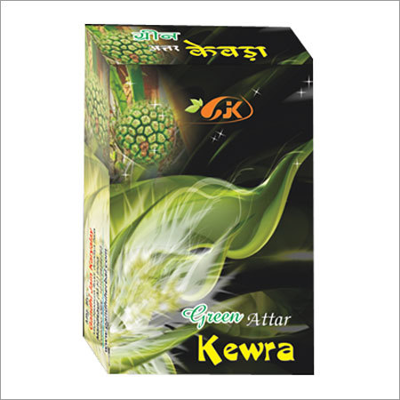 Green Kewda Attar