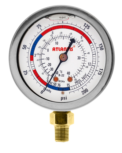 Stainless Steel Liquid-Filling Type Refrigeration Gauge