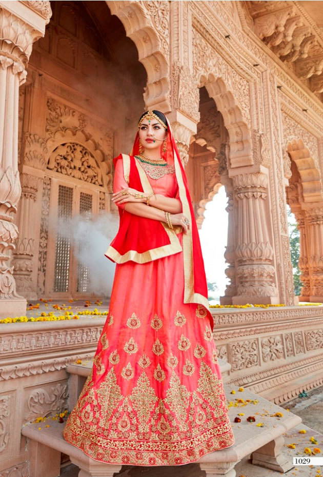 Sethnic wholesale bridal lehenga under 500 catalog supplier in surat