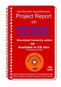 Door Visor For Auto Vehicles manufacturing eBook
