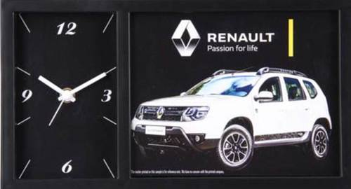RENAULTTABLE CLOCK WITH PHOTO FRAME