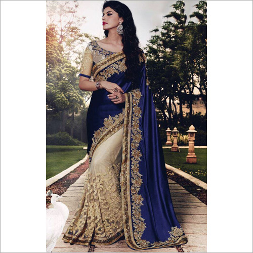 Traditional Chiffon Saree