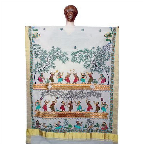 Printed Traditional Cotton Saree