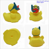 yellow rubber duck with sunglasses wholesale