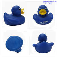 pvc material rubber bath duck with LED light