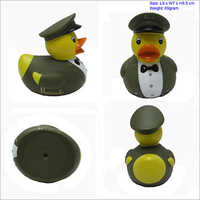Captain rubber duck for UK market