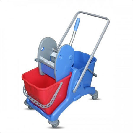 Single Mop Wringer Trolley