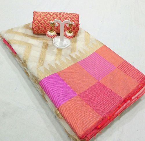 Cotton Fancy Silk Saree
