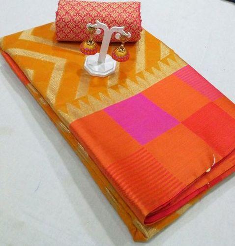 Fancy Ladies Silk Saree