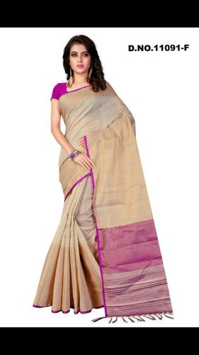 Linen Silk saree