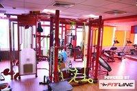 Commercial Gym Equipment Setup