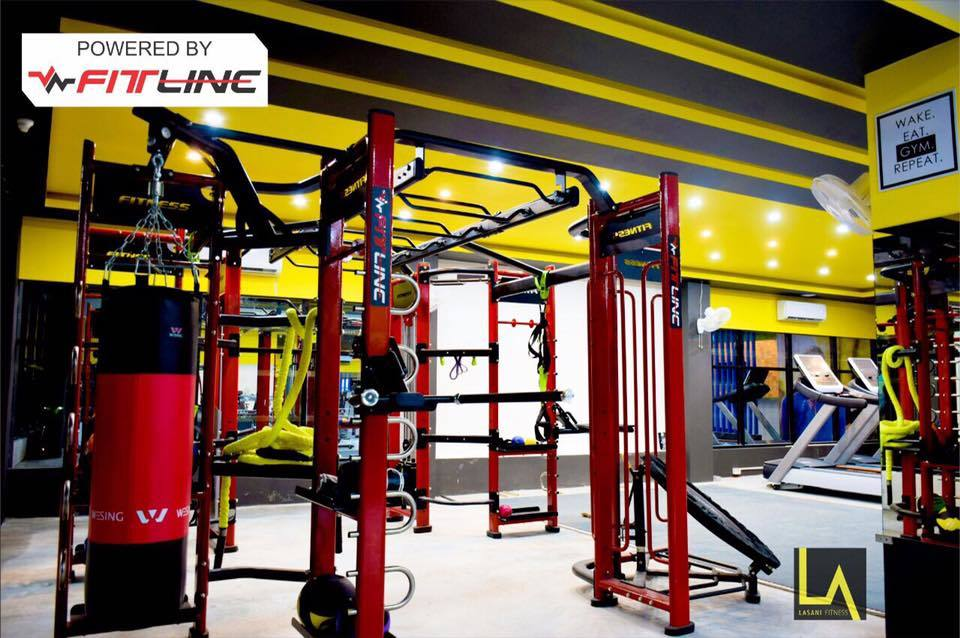 Commercial Gym Equipment Setup