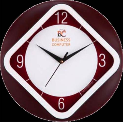 BUSINESS COM WALL CLOCK
