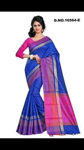 Ladies Tussar Khadi Silk Saree