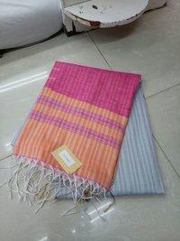 Tussar Korvai Silk saree
