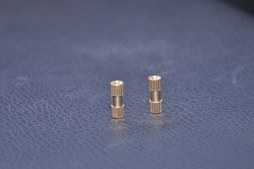 Brass Straight Knurling Round Inserts
