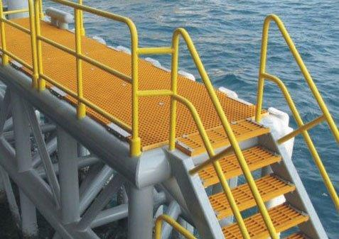 Grating Used In Plateform