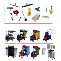janitorial cleaning tools equipment