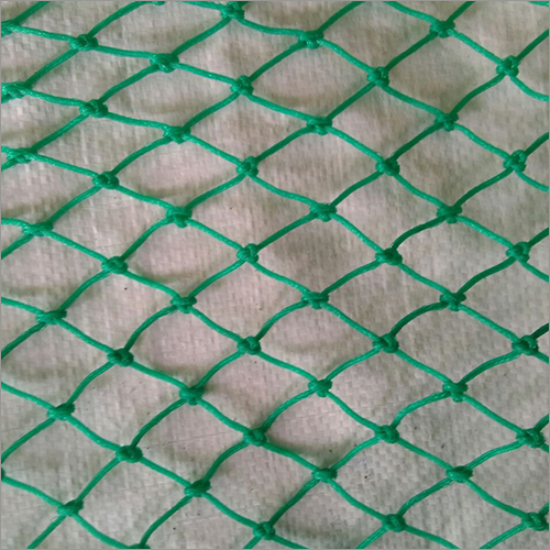 HDPE Green Braided Sports And Safety Net