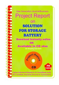 Solution for Storage Battery manufacturing Project Report eBook