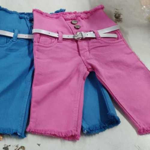 Kids Denim Capri Jeans