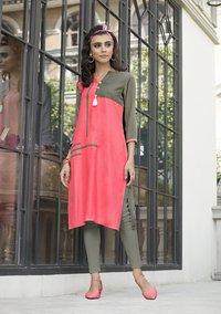 Designer Silk Dress