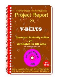 V-Belts manufacturing Project Report eBook