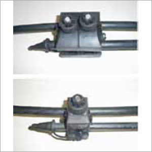 Piercing Connector for Covered Conductor