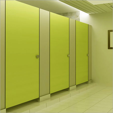 European Style HPL Panel Toilet Cubicle