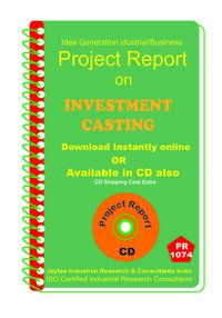 Investment Casting manufacturing Project Report eBook