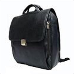 Lockable Flap Leather Bag