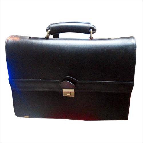 Lockable Leather Bag