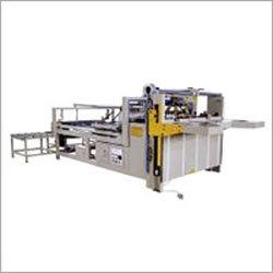 Semi Automatic Pasting Box Machine