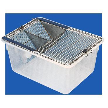 SS and Polypropylene  Animal Cage