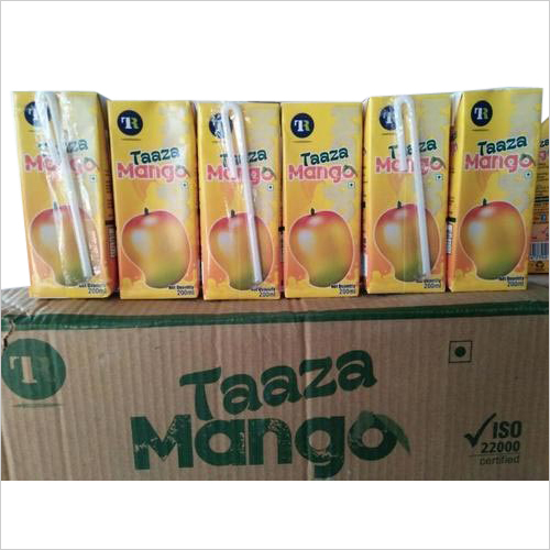 Refreshing Mango Juice