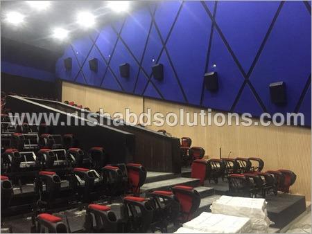 Auditorium Wall Panelling