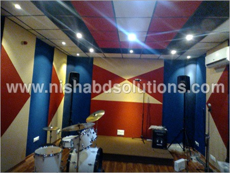 Studio Acoustic Wall Paneling