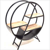 Industrial Round Shelves