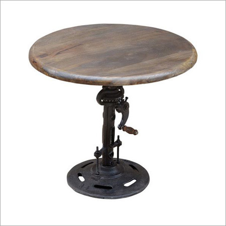 Antique Crank Table